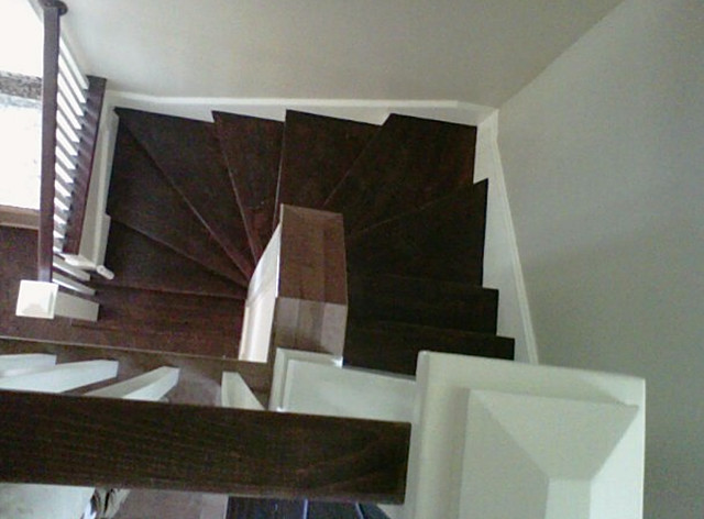 Remodeled Stairs Projects traditional