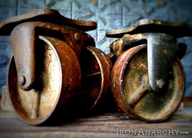 Antique Casters - Industrial - Home Improvement - los ...