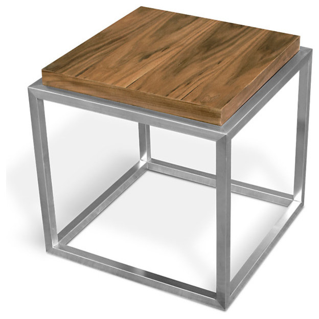 Modern side table crowdbuild for for Modern accent tables