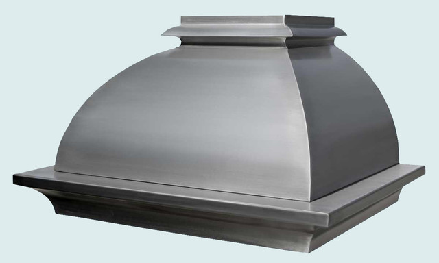 Stainless Hood   Handcrafted Metal modern-kitchen-hoods-and-vents