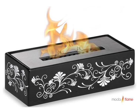 Moda Flame Zamora Table Top Ethanol Fireplace - Zamora Table Top Ethanol Fireplace