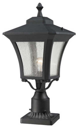 Waterdown 1 Light Outdoor Post Lantern modern-post-lights