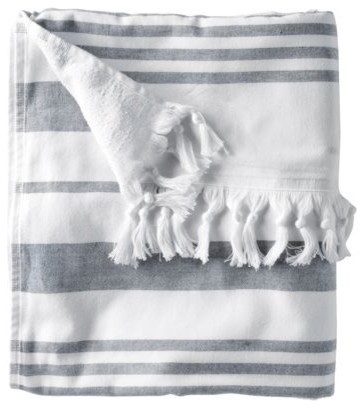Fouta Oversized Towel contemporary towels