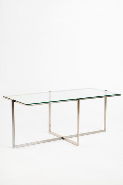 Crisscross Table modern-coffee-tables
