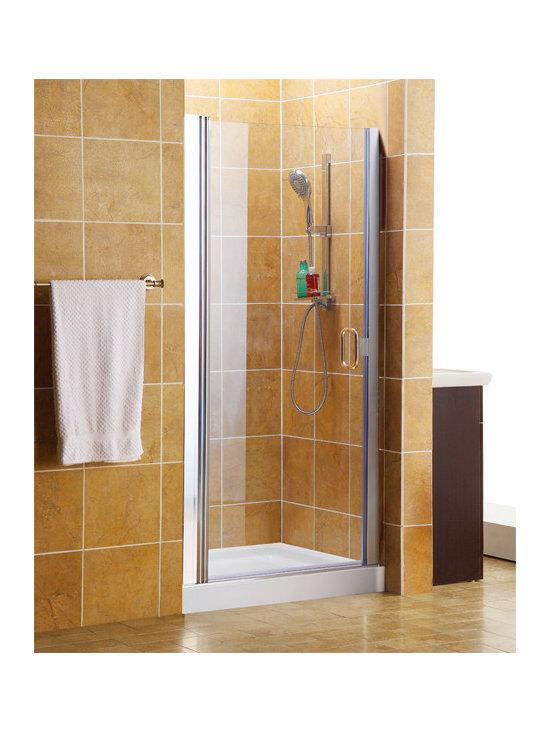 Shower Door Enclosures - Hinged Style Shower Doors