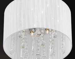 Demoya Drum Pendant/Flushmount contemporary-pendant-lighting