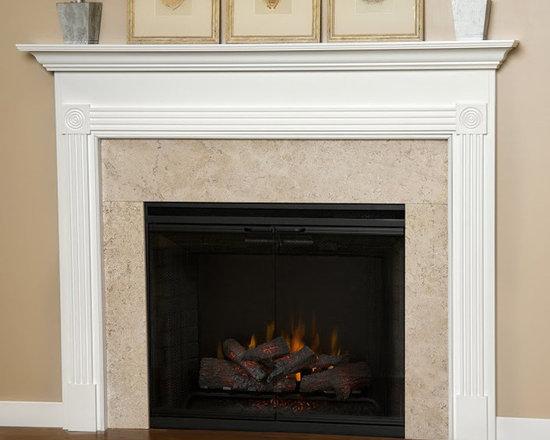 Blue Ridge Wood Fireplace Mantel -