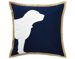 Navy Buddy Pillow traditional-pillows