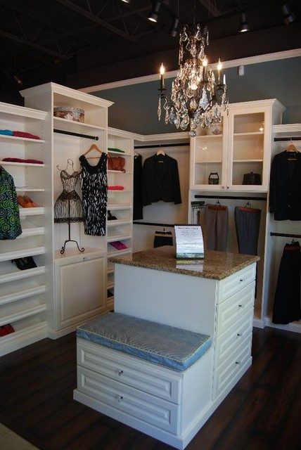 Closets by Design Showroom - Traditional - Closet - other metro - by Closets by Design Louisville