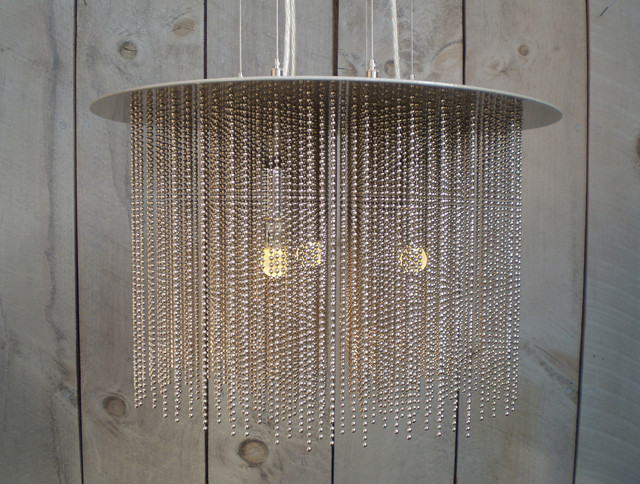 cold shower ball chain chandelier modern chandeliers