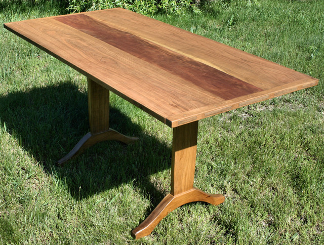 Cherry Trestle Table traditional-dining-tables