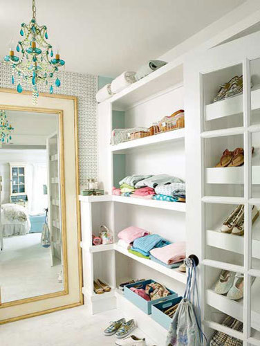 Organizational Inspiration: Neat & Beautiful Closets | Apartment Therapy DC eclectic