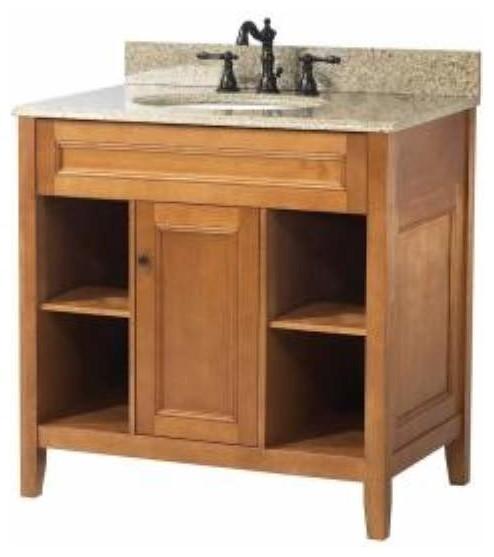 foremost exhibit 30 inch vanity in rich cinnamon maple finish bathroom vanities and sink