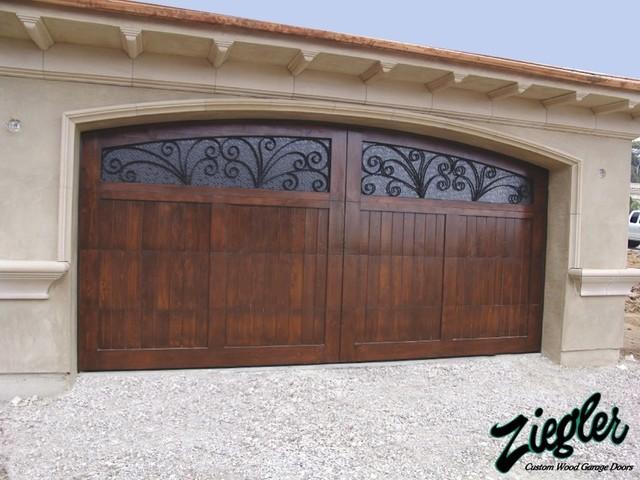 Mediterranean Style Garage Doors Mediterranean Garage