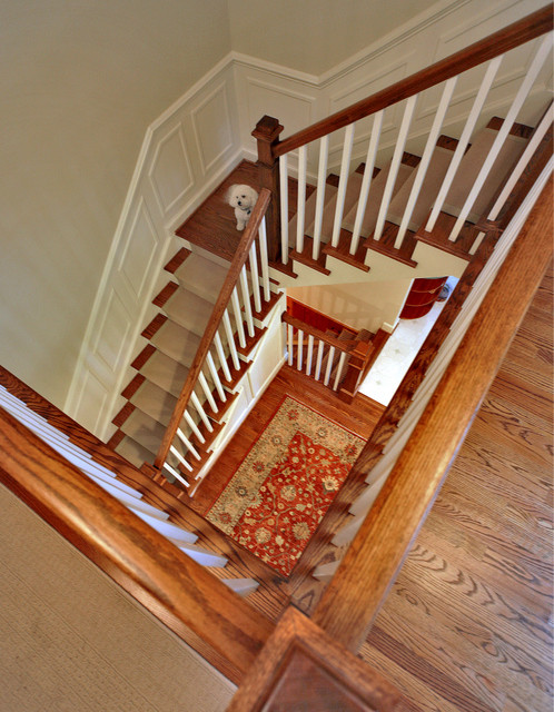 Upton Architecture, LLC traditional staircase