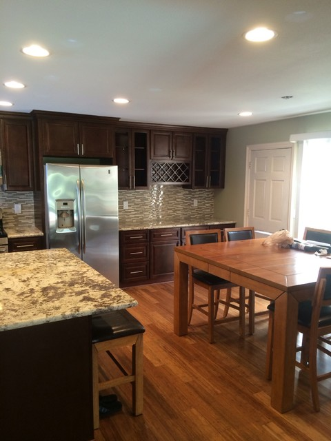 Timeless Touch Home Remodel transitional