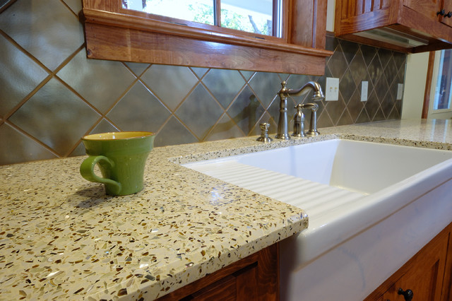Recycled Countertops : Recycled Glass - Contemporary - Kitchen Countertops - san francisco ...