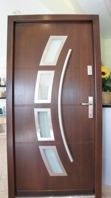 Modern exterior doors modern new york by liberty for Modern exterior doors