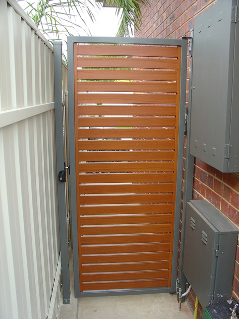 Modern Fencing - Modern - Home Fencing And Gates - adelaide - by Hindmarsh Fencing & Wrought ...