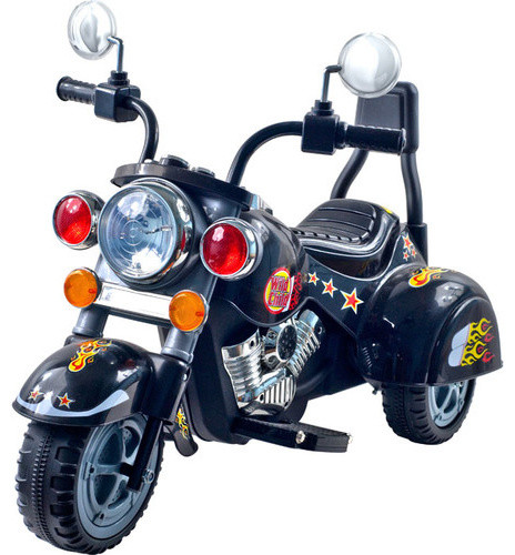 Wild Child Motorcycle in Black with Three Wheeler modern-kids-toys-and-games