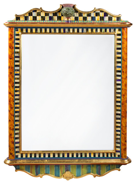 Thistle Mirror - Large | MacKenzie-Childs eclectic-mirrors
