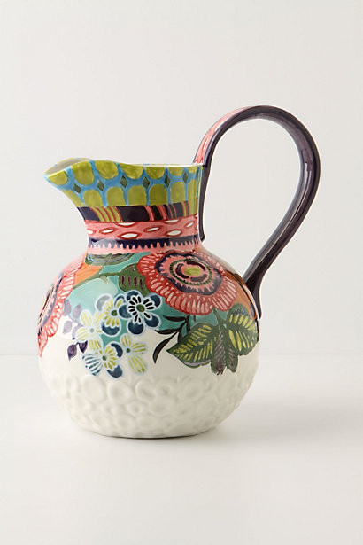 Amazon Dreams Pitcher eclectic serveware