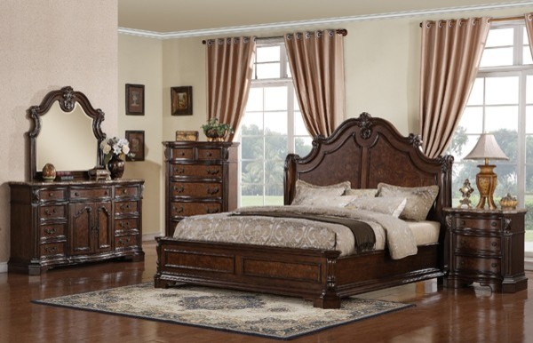 Samuel lawrence monticello bedroom set 8264 room traditional bedroom furniture sets for Bedroom furniture salt lake city