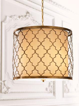 Latticework Chandelier traditional-chandeliers