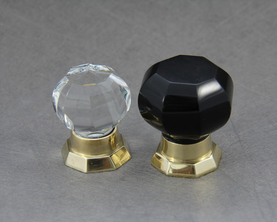 Cabinet Knobs Octagonal Cabinet Knob -