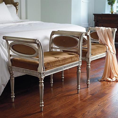 Josephine Bench traditional-bedroom-benches