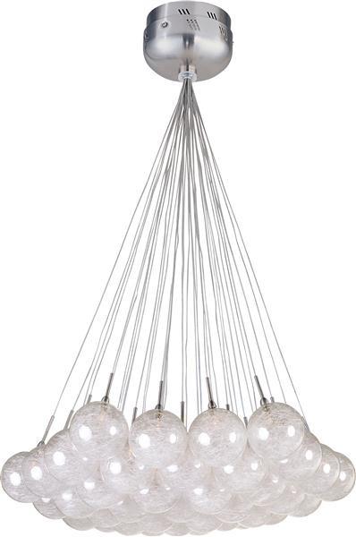 ET2 Lighting E20112-79 37 Light Pendent Starburst Collection traditional-pendant-lighting