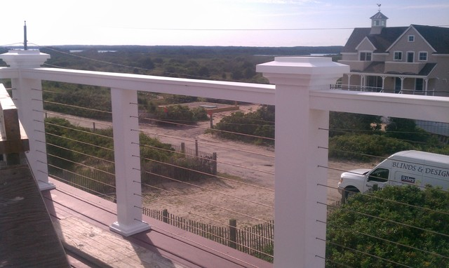 Balcony Railings With Stainless Steel Cable Rail Modern