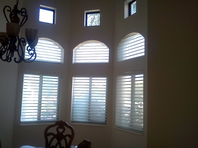Blinds, shades and shutters - Transitional - Window Blinds ...
