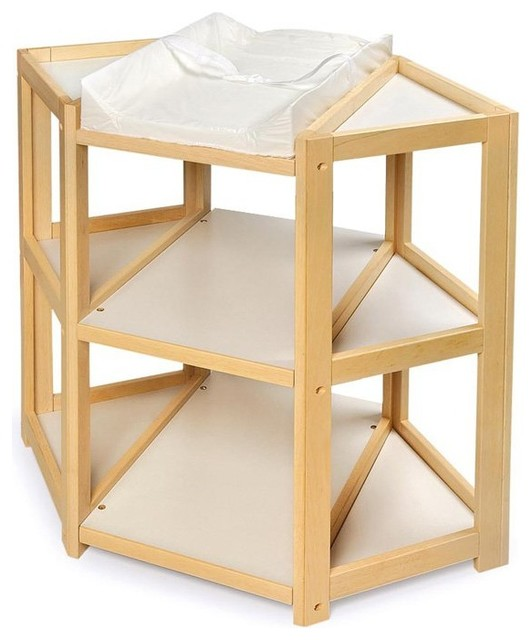 Badger Basket The Diaper Corner - 02206 contemporary-changing-tables