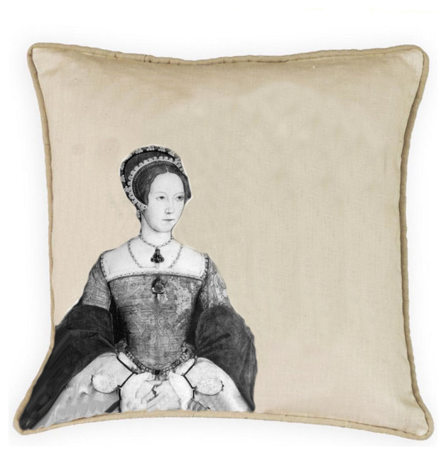 Collection of 100% linen pillows eclectic-decorative-pillows