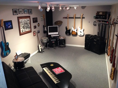 Man Cave Ideas Music : Music room man cave