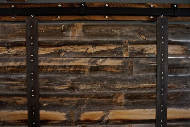 Sliding barn door rustic screens and room dividers