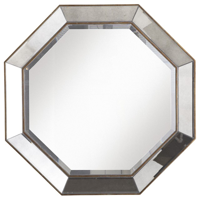 Crisanto Octagon Mirror - Traditional - Wall Mirrors - by Pier 1 Imports