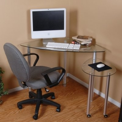 home and office t1d 114 new tier one designs clear glass computer desk