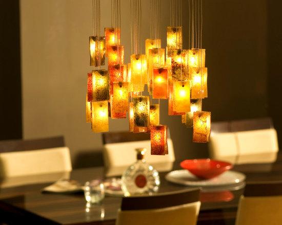 "Galilee Lighting - modern chandeliers ""Autumn"" - ""Autumn"""