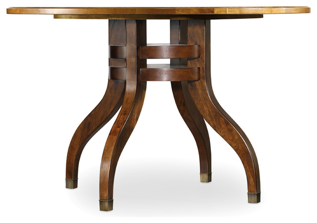 48 Inch Round Dining Table 5183 75201 Transitional Dining Tables