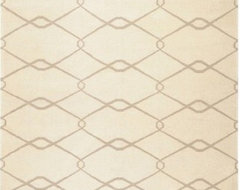 Fallon Ivory/Taupe Rug modern-rugs