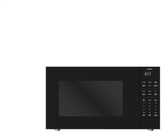 """WOLF 24"""" Standard Microwave Oven Black 