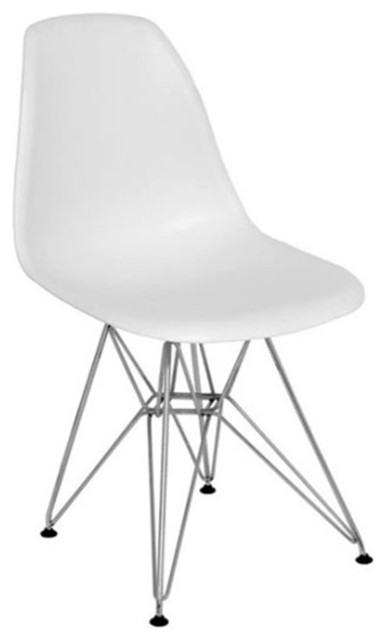 WireLeg Dining Side Chair modern-dining-chairs