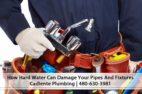How Hard Water Can Damage your Pipes and Fixtures