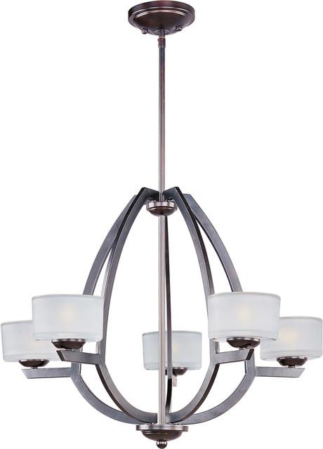 Vortex 5-Light Pendant modern-chandeliers