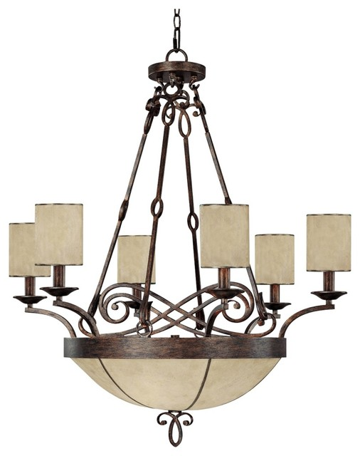 "Traditional Reserve Collection 32"" Wide Pendant Chandelier traditional-chandeliers"