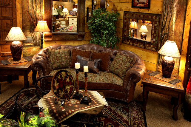 Retail Showrooms traditional-family-room