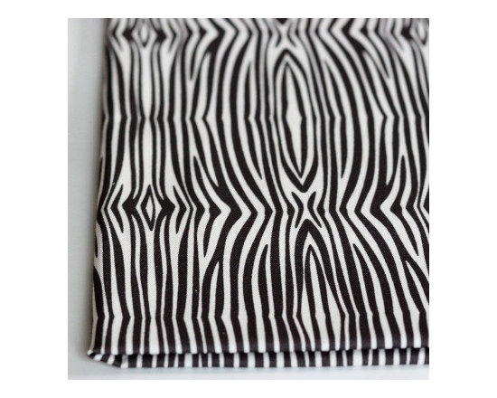 PURE Inspired Design - Mini Zebra { PURE Elements Collection } - 100% certified organic fabric (cotton canvas 8oz), which is grown, woven, and printed in the USA.