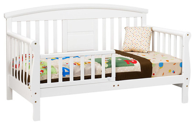 Baby Sofa Bed : Baby Sofa Bed : ... Elizabeth II Convertible Toddler Bed in White ...